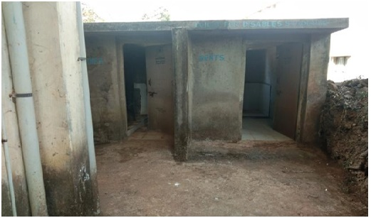 Toilet  for differently abled students